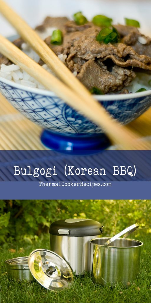 Thermal Cooker Bulgogi - Pinterest