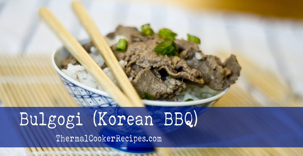 Thermal Cooker Bulgogi - Slider
