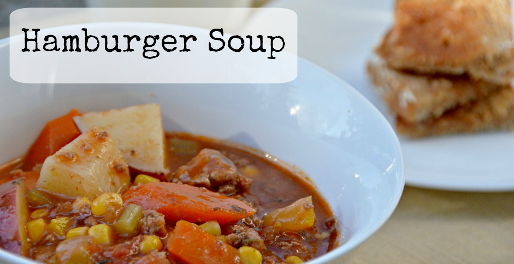 hamburger soup slider